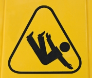 Sign of Person Falling